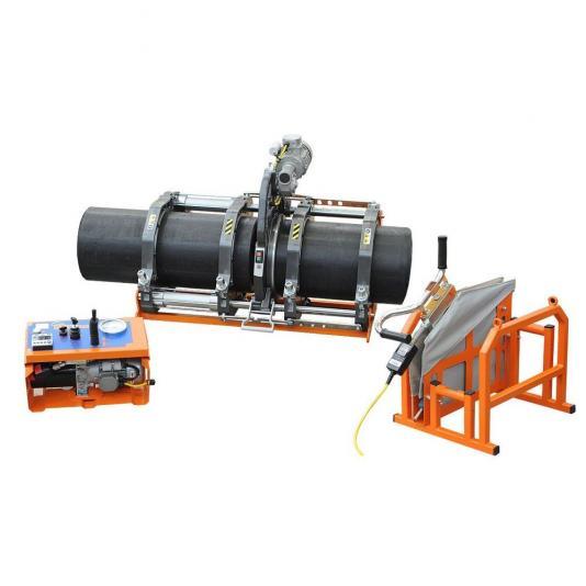 Ritmo BASIC 355 V0 kézi vezérlésű tompahegesztőgép 125-315 szűkítő befogósorozattal