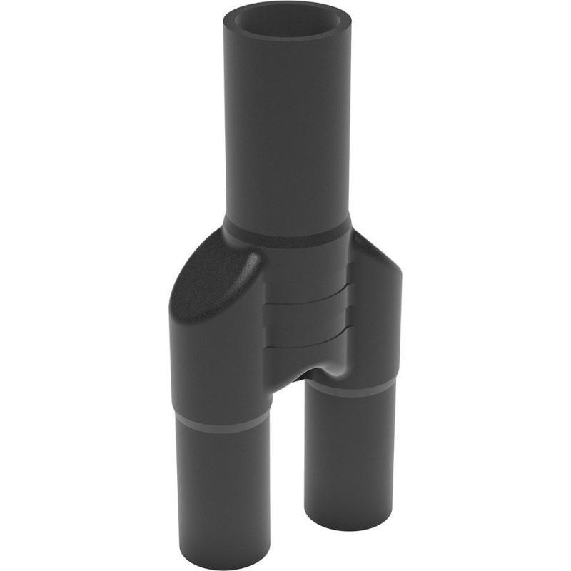40/32 hosszú Y idom PE100 SDR11 fekete BR