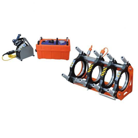 Ritmo BASIC 160 V2 kézi vezérlésű tompahegesztőgép 40-140 szűkítő befogósorozattal