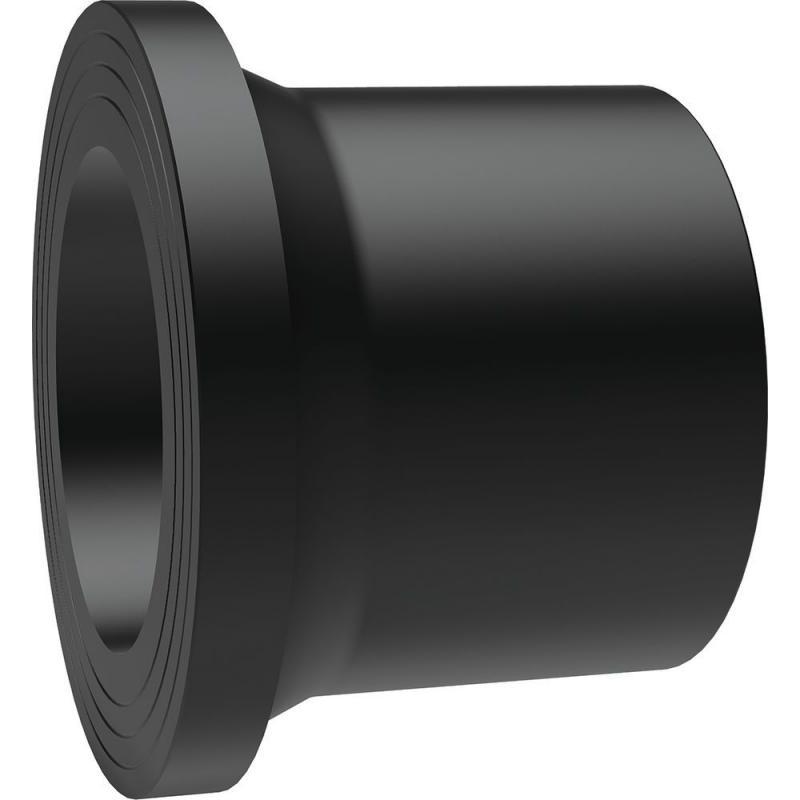 630 hosszú hegtoldatos kötőgyűrű PE100 SDR17 fekete BR
