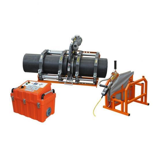 Ritmo EASYLIFE 355 V0 félautomata jegyzőkönyvezős tompahegesztőgép 125-315 szűkítő befogósorozattal