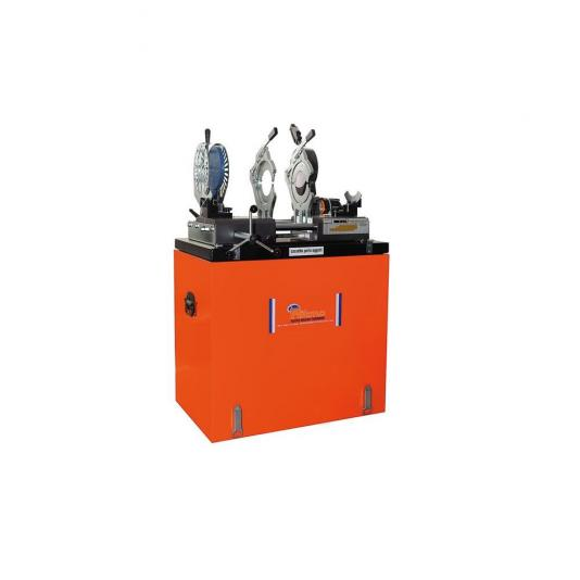 Ritmo VR160 JOYT TE (230V) lefolyócső tompahegesztő gép teljes befogósorozattal 40-160 (kivéve 140-es)
